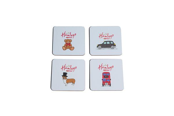 Hamleys London Coasters Set