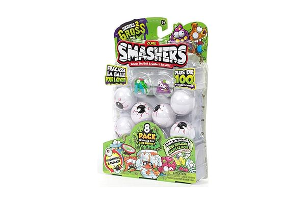 Smashers Smashball Collectables Series 2 8 Pack