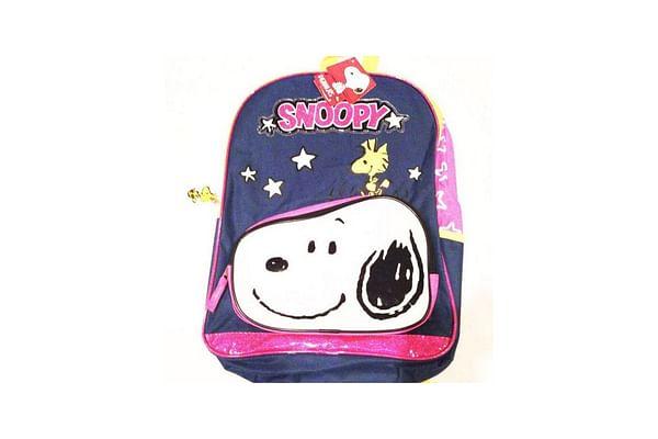 """Snoopy Rainbow Star 16"""" Backpack"""