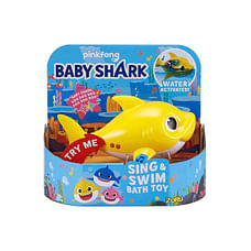 Robo Alive Junior Baby Shark Battery-Powered Sing And Swim Bath Toy