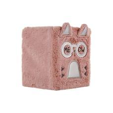 Mirada Fancy Cat Plush Notebook