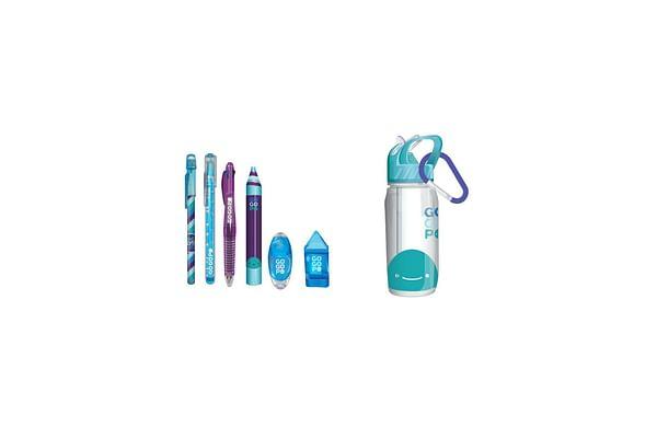 Gogopo Blue Sports Bottle Bundle