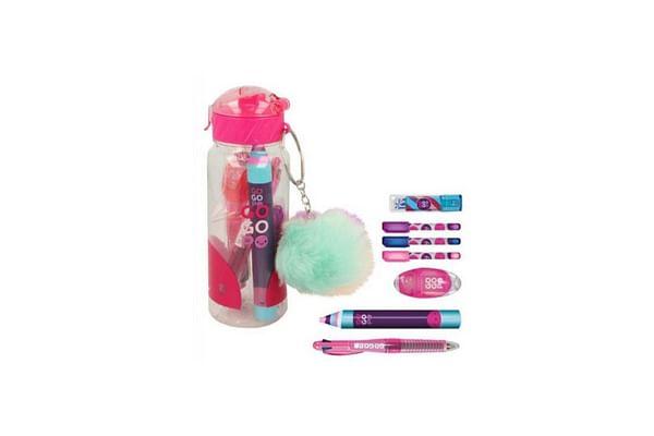 Gogopo Pink Sports Bottle Bundle