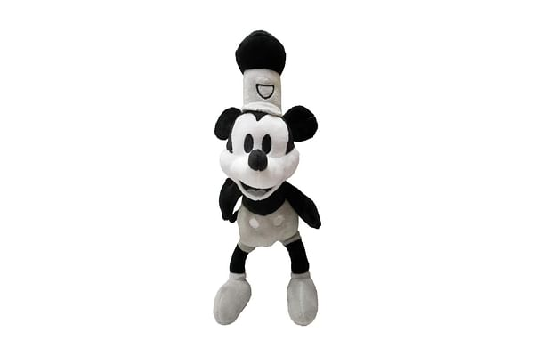 Disney Steamboat Willie Mickey Plush 15 Cm