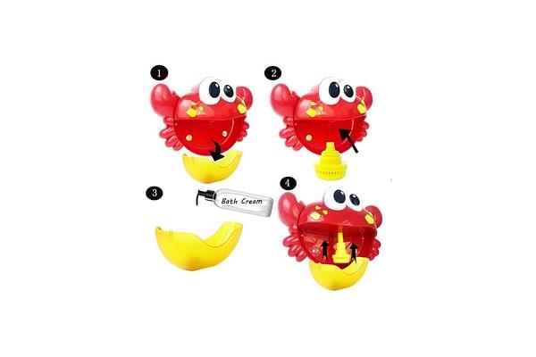 Hamleys Crab Bubble Bath Toy