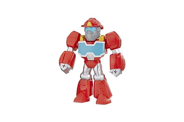 Playskool Heroes Transformers Rescue Bots Academy Mega Mighties Heatwave The Fire-Bot