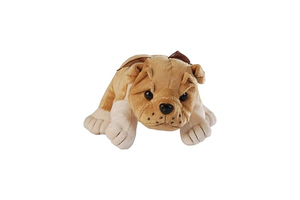 Softbuddies Lying Bull Dog Large