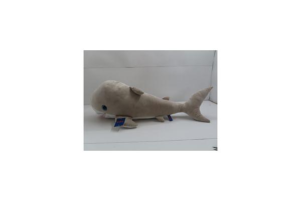 Dolphin Plush - Grey - 100Cm