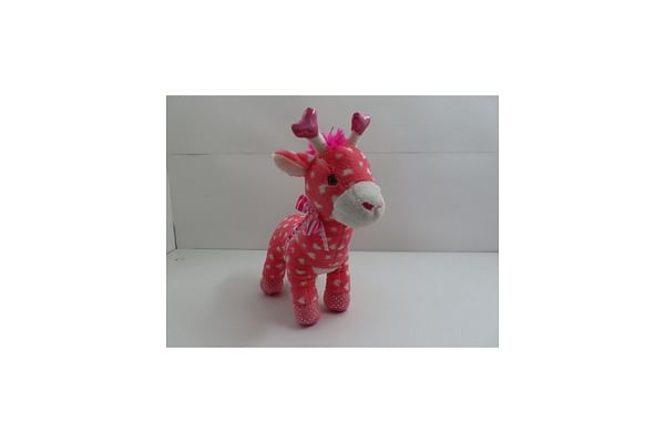 Giraffe Stuffed Animal - Pink - 48Cm