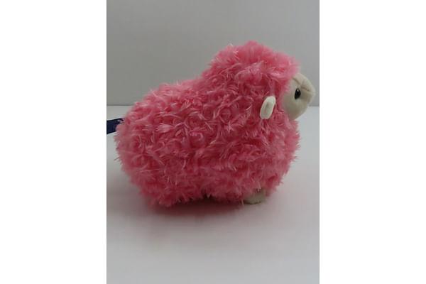Pink Lamb Stuffed Animal - 28Cm