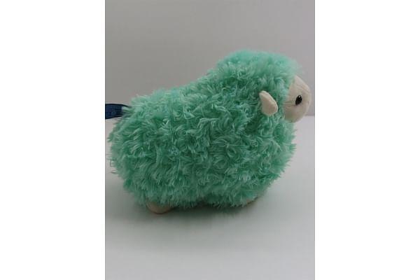 Green Lamb Stuffed Animal - 28Cm