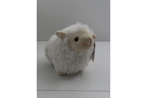 White Lamb Stuffed Animal - 28Cm