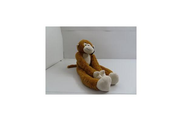 Monkey Animal Plush - Brown - 71Cm