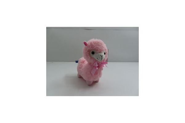 Llama Stuffed Plush Toy - Pink - 28Cm