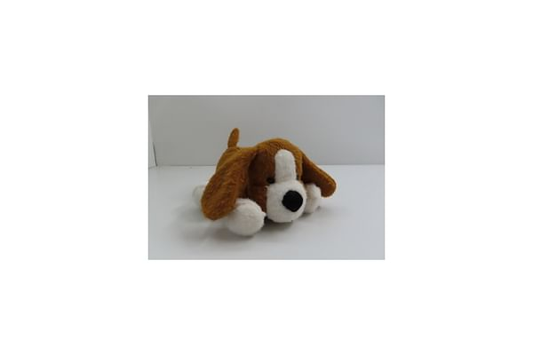 Soft Lying Dog - Lt. Brown - 33Cm