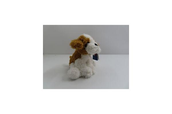 Sitting Dog - White - 25Cm