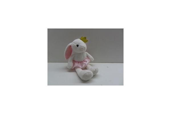 Rabbit Soft Plush Toy - White - 40Cm