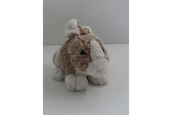 Soft Furry Bunny - Brown - 25Cm
