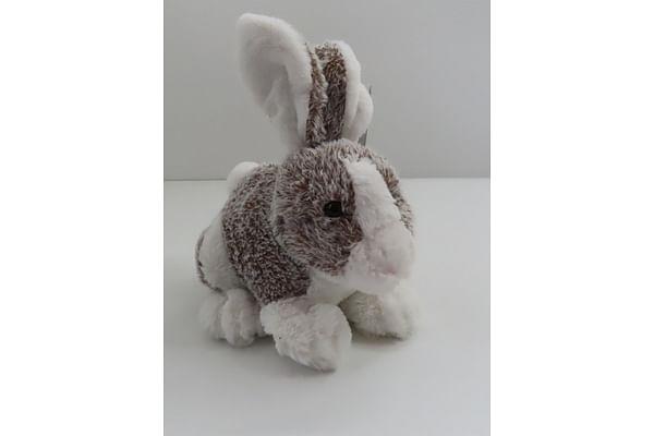 Soft Furry Bunny - White - 25Cm