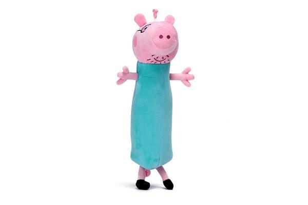 Peppa Pig Daddy Pig Plush Pen Pouch 30 Cm