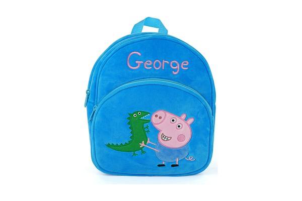 Peppa Pig George Pig Plush Bag 28 Cm