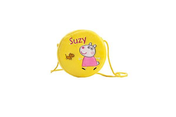 Peppa Pig Suzy Sheep Round Plush Sling Bag 16 Cm
