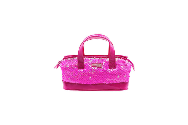 Hamster London Sequence Mini Handle Back Pink