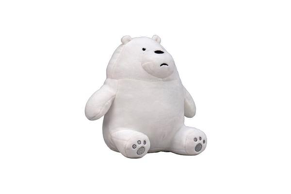 We Bare Bear Sitting Ice Bear Plush 20 Cm