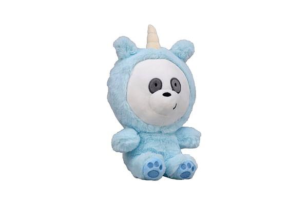 We Bare Bear Panda Bear With Unicorn Onesie Plush 25 Cm