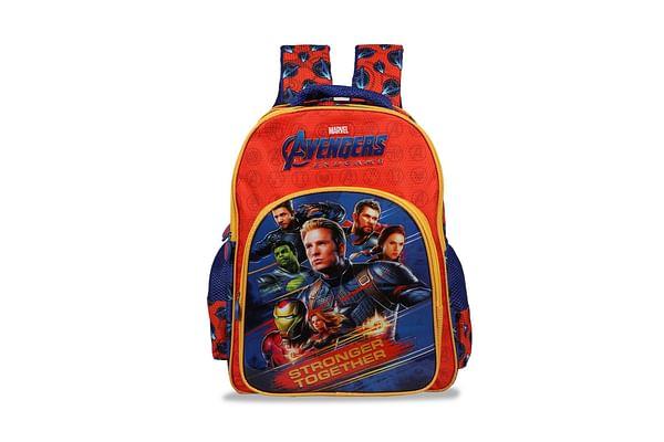 Avengers Stronger Together Red & Blue School Bag 46 Cm