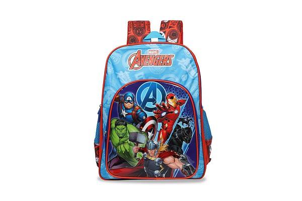 Avengers Super Heroes Red & Blue School Bag 36 Cm