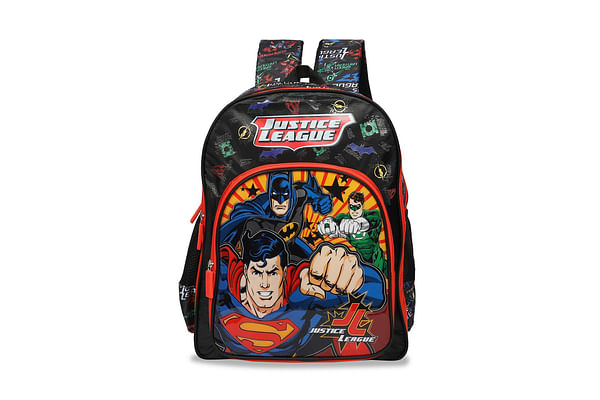 Justice League Red & Black School Bag 41 Cm