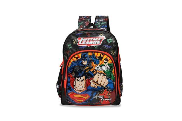 Justice League Red & Black School Bag 46 Cm