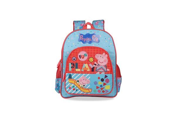 Peppa Pig Festival Selfies Pink School Bag 36 Cm