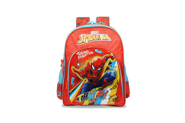 Spiderman Crime Fighter School Bag 36 Cm
