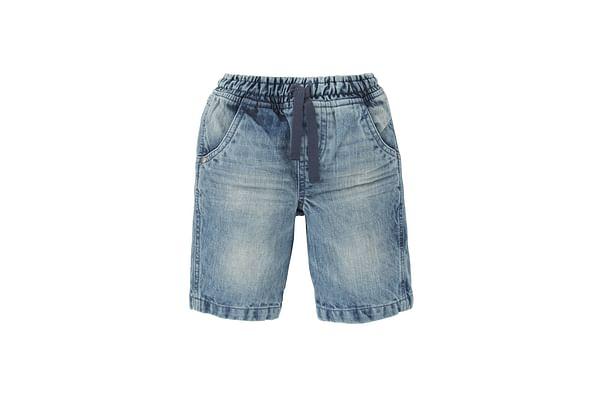 Boys Denim Shorts - Blue