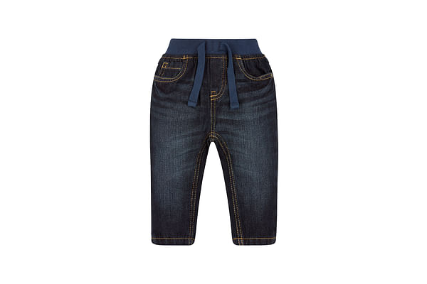 Boys Ribwaist Jeans Dark Wash - Blue