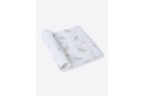 Mila Baby - Unicorn - Muslin Swaddle