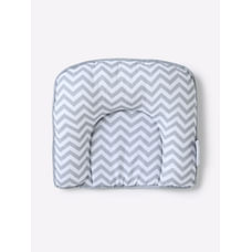 Mila Baby - Grey Chevron - Baby Pillow