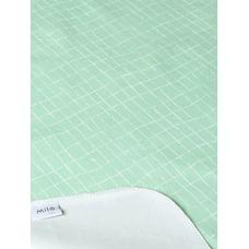 Mila Baby - Green Checks - Changing Mat