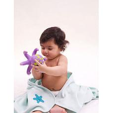 Mila Baby - Starfish - Waffle Towel