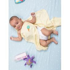 Mila Baby - Ice Cream Cone - Waffle Towel
