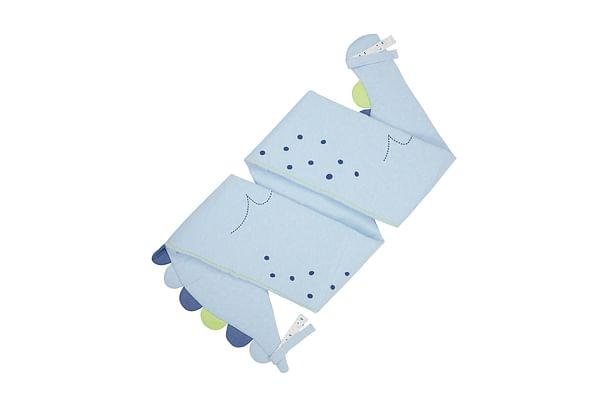 Mothercare Sleepysaurus Long Bumper  Baby Bedding Sets Blue