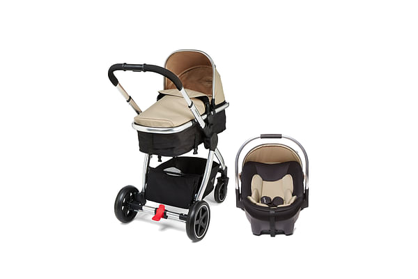 Mothercare Pc Journey Chrome Travel System Sand
