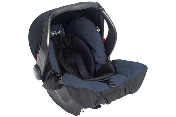 Graco Evo Group 0+ Snugsafe Car Seat Navy