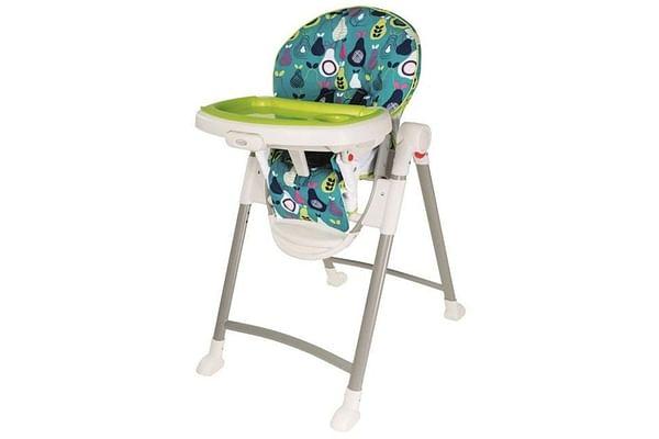 Graco Contempo Pears 1913575 Blue High Chair