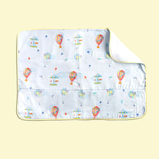 Fancy Fluff Organic Bed Protector - Carnival