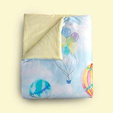 Fancy Fluff Organic Toddler Comforter - Carnival