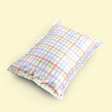 Fancy Fluff Organic Rectangle Pillow - Carnival
