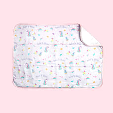 Fancy Fluff Organic Bed Protector - Unicorn
